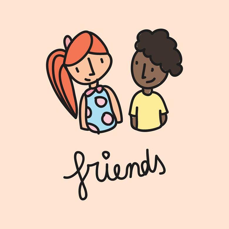 780x780 Multicultural Friends