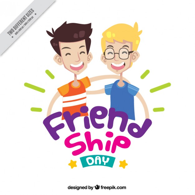 626x626 Nice Friends Together Background Vector Free Download