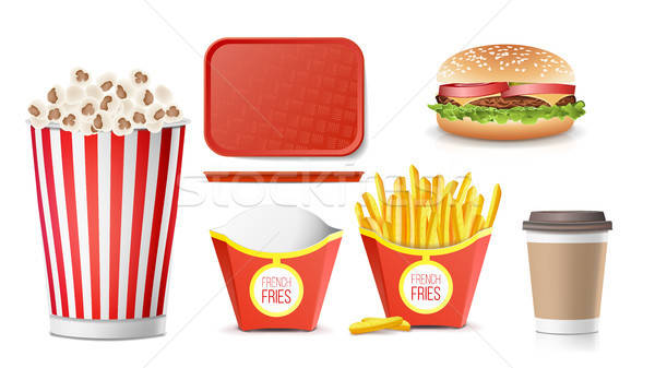 600x337 Fries Stock Vectors, Illustrations And Cliparts Stockfresh