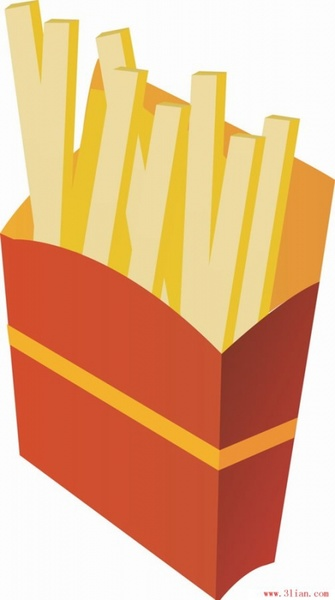 335x600 Fries Vector Free Vector In Adobe Illustrator Ai ( .ai ) Vector