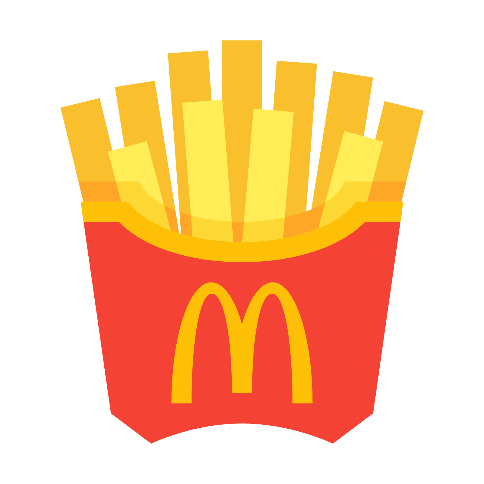 1600x1600 Mcdonald`s French Fries Icon