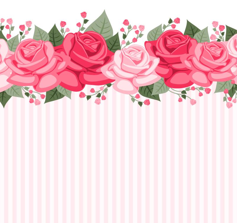 800x751 Color Rose Fringe Background Vector Map Color,rose,fringe