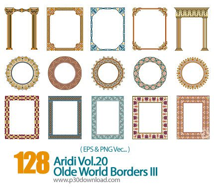 430x382 Frame Of The Old Fringe Vector Of The World A2z P30 Download Full