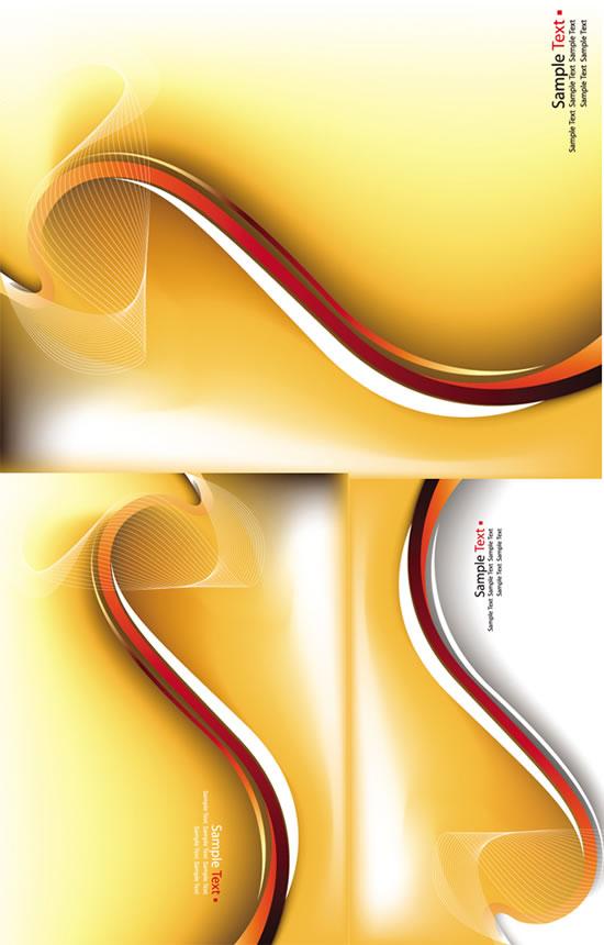 550x860 Fringe Golden Gradient Background Vector Free Download
