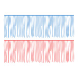 160x160 Fringe Rows Vector Garments Component. Brush Border Tassel, Trim