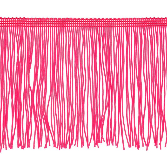 693x693 4 Chainette Fringe Trim Fuchsia