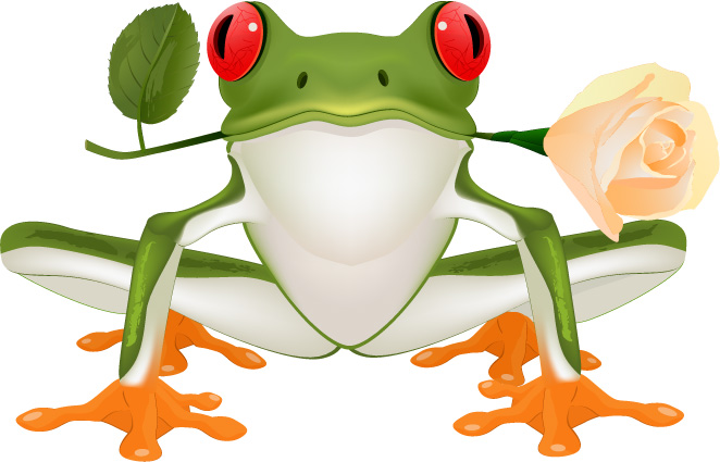 Frog Vector Free