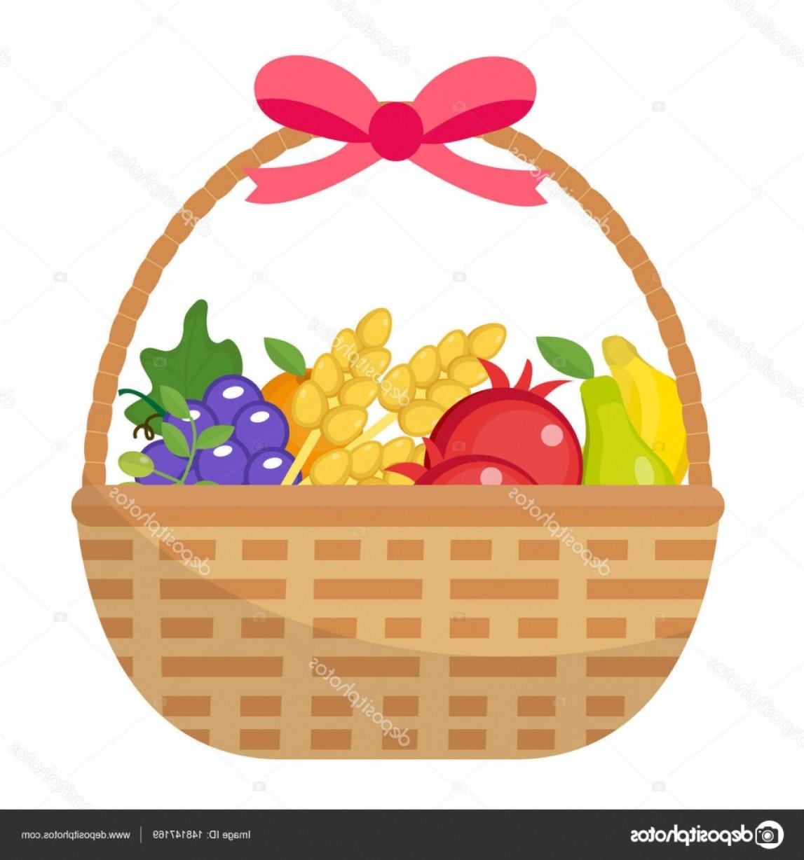 1147x1228 Fruit Basket Vector Icon Lazttweet