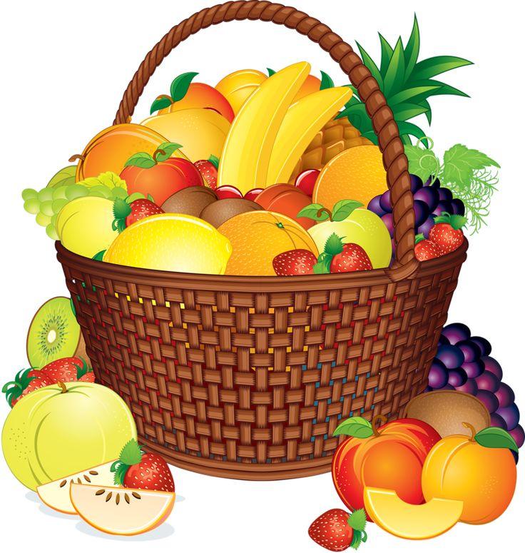 736x775 Basket Clipart Fruit Basket 3055148