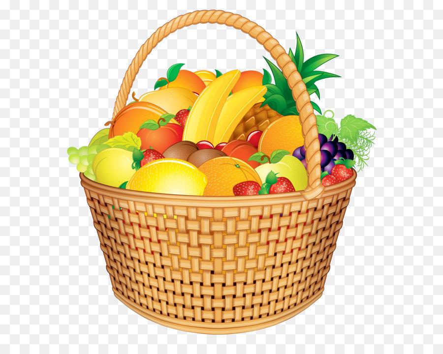 900x720 Basket Of Fruit Gift Basket Clip Art