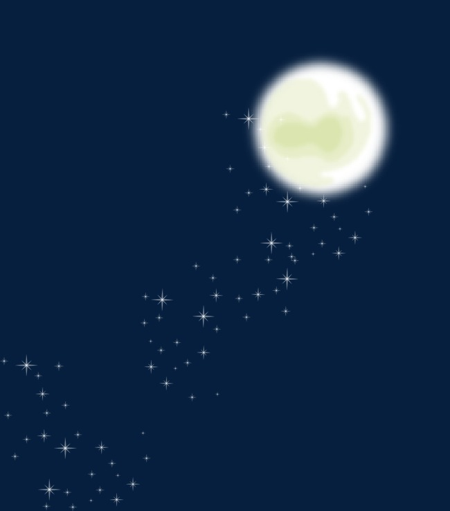 650x738 Full Moon Night, Moon Vector, Night View, Full Moon Png And Vector