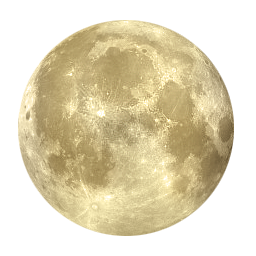 256x256 Full Moon Cycle Clipart