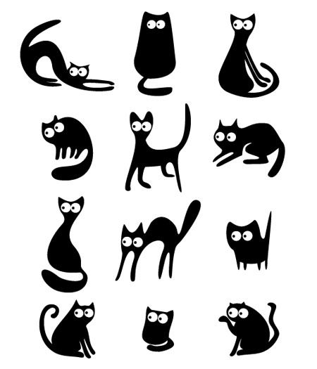 450x525 Funny Cat Graphic