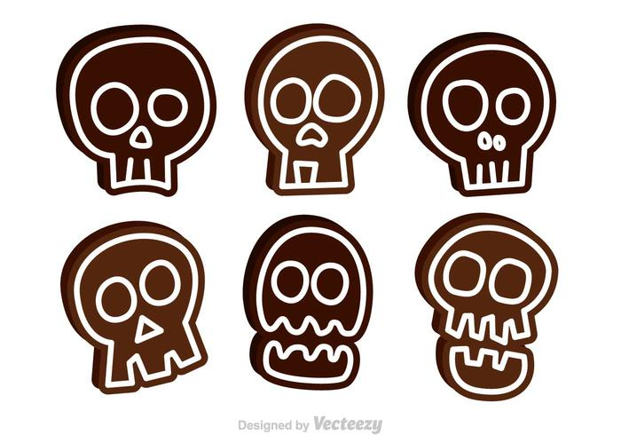 700x490 Funny Skull Vector Icons