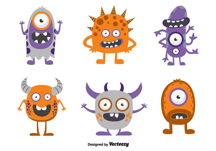 700x490 Funny Cartoon Monsters