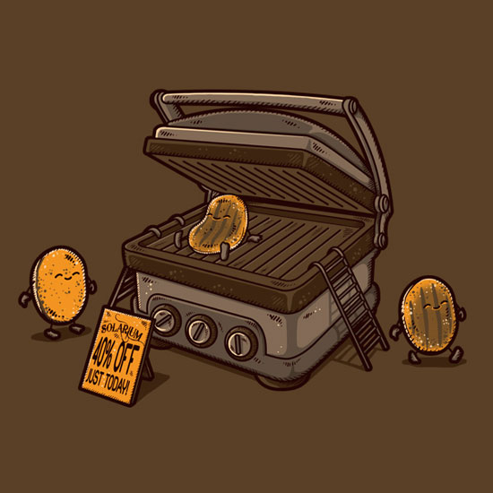 550x550 Funny Vector Illustrations To Amuse You (29 Prints)