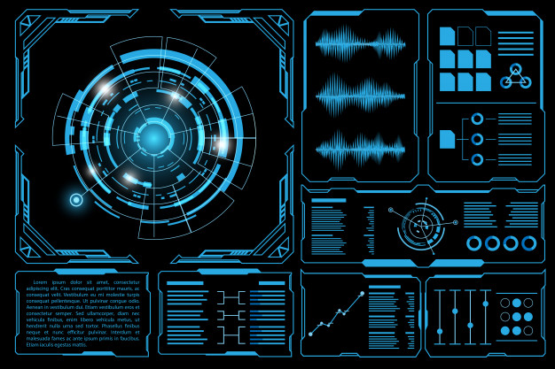 Futuristic Interface Vector