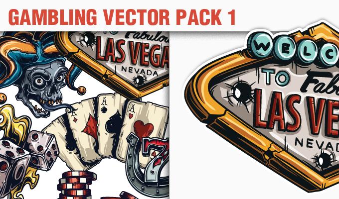680x400 Gambling Vector Pack 1