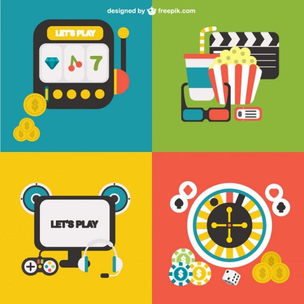 626x626 Gambling Vectors Vector Free Download