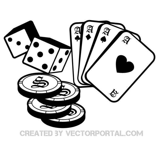 660x660 Casino And Gambling Free Vector 123freevectors