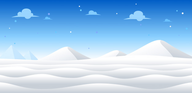626x305 Snow Day Game Background Vector Premium Download