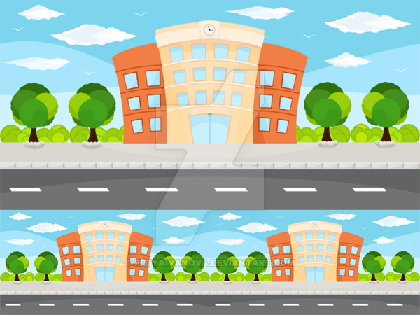 600x450 Building Game Vector Background By Petyaivanova