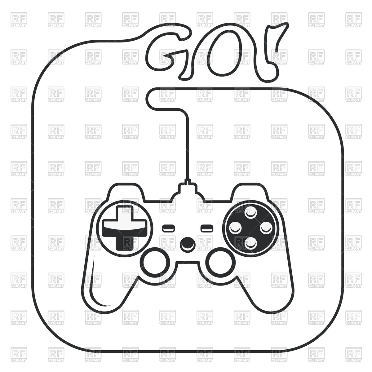 1200x1200 Gamepad In Hands Icon