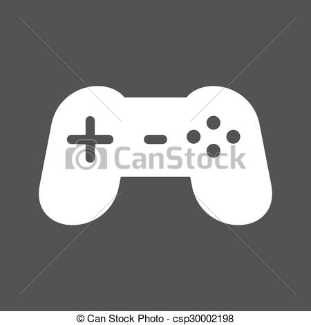 450x470 Gaming Console. Game, Video, Console Icon Vector Image.can Also Be