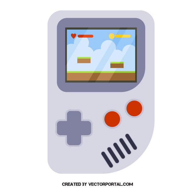 660x660 Portable Video Game Console