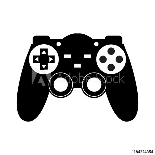 500x500 Game Console Vector