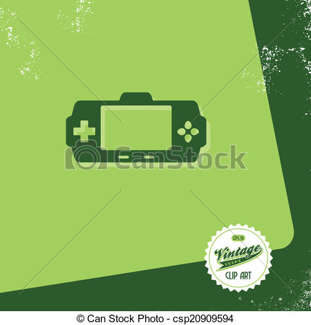 450x470 Editable Game Console Vector Graphic Art Design Illustration.