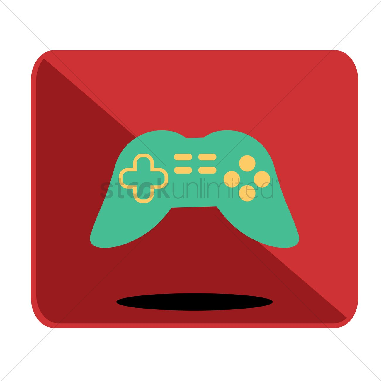 1300x1300 Free Game Controller Icon Vector Image