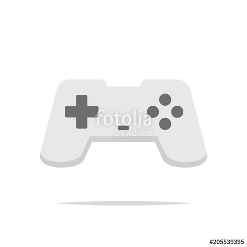 500x500 Game Controller Icon Vector Stock Image And Royalty Free Vector