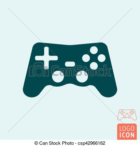 450x470 Gamepad Icon Isolated. Gamepad Icon. Video Game Controller Symbol