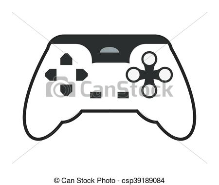 450x379 Flat Design Game Controller Icon Vector Illustration Vector