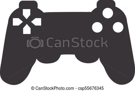 450x303 Gamepad Vector Icon. Gamepad, Game Controller Vector Icon. Video