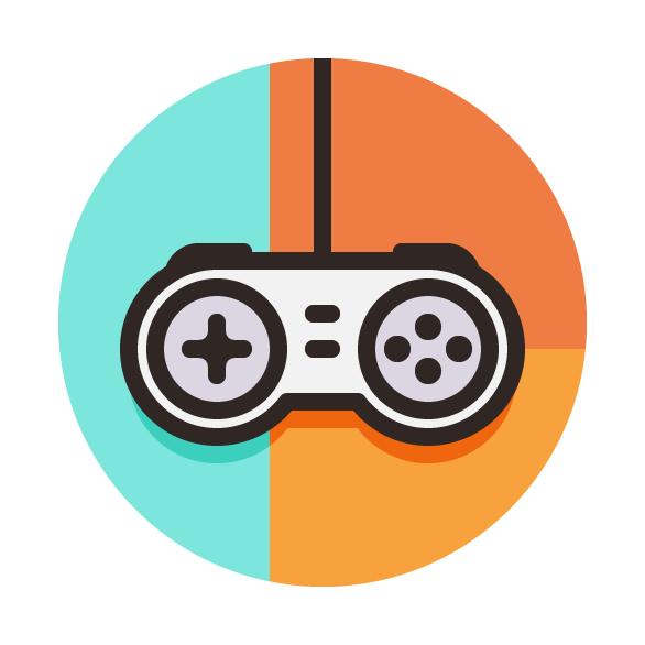 586x586 How To Create A Game Controller Vector Icon Design Tutorials