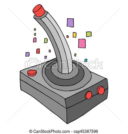 450x470 Retro Game Controller. An Image Of A Retro Game Controller.