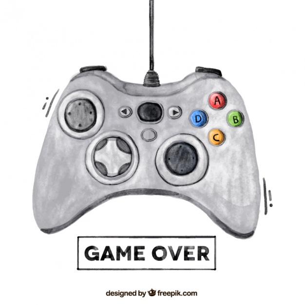 Game Controller Vector Free