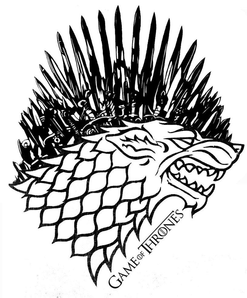 815x981 Game Of Thrones Stark Iron Throne By Allhailz