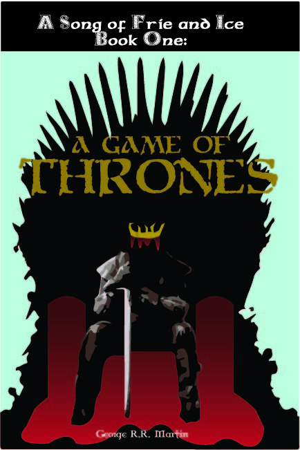 434x651 My Asu Student Art Blog Vector Game Of Thrones Book Cover