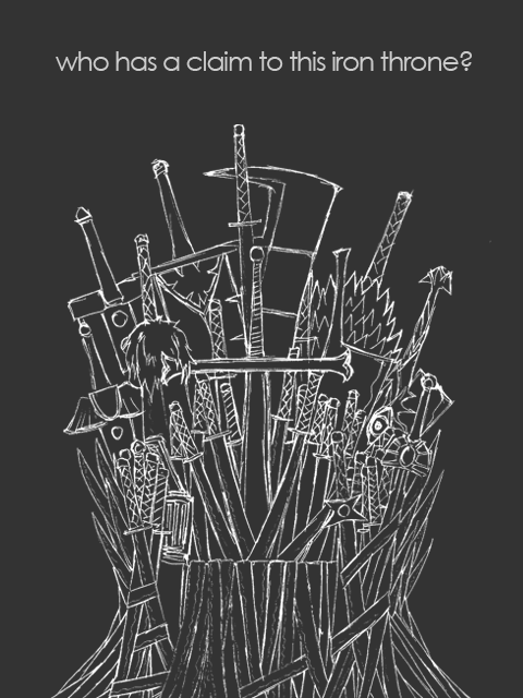 480x640 The Iron Throne By Christiandrew