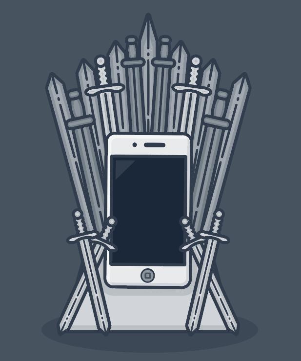 617x740 Game Of Thrones Phone Iphone Pun Throne Sword Iron Vector
