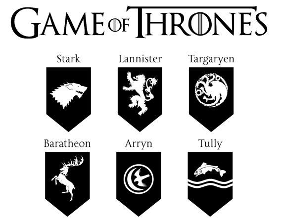 570x449 Game Of Thrones Logo Vector Png Transparent Game Of Thrones Logo