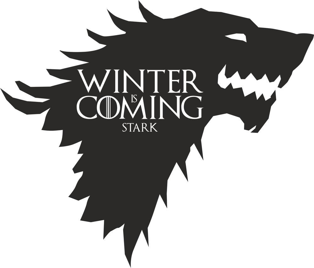 1000x855 Game Of Thrones Stark Vector Free Vector Download