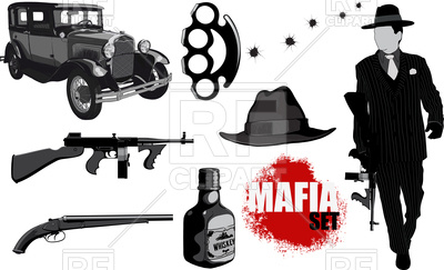 400x243 Set Of Gangster Accessories