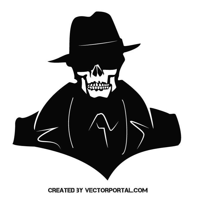 660x660 Skull Of A Gangster