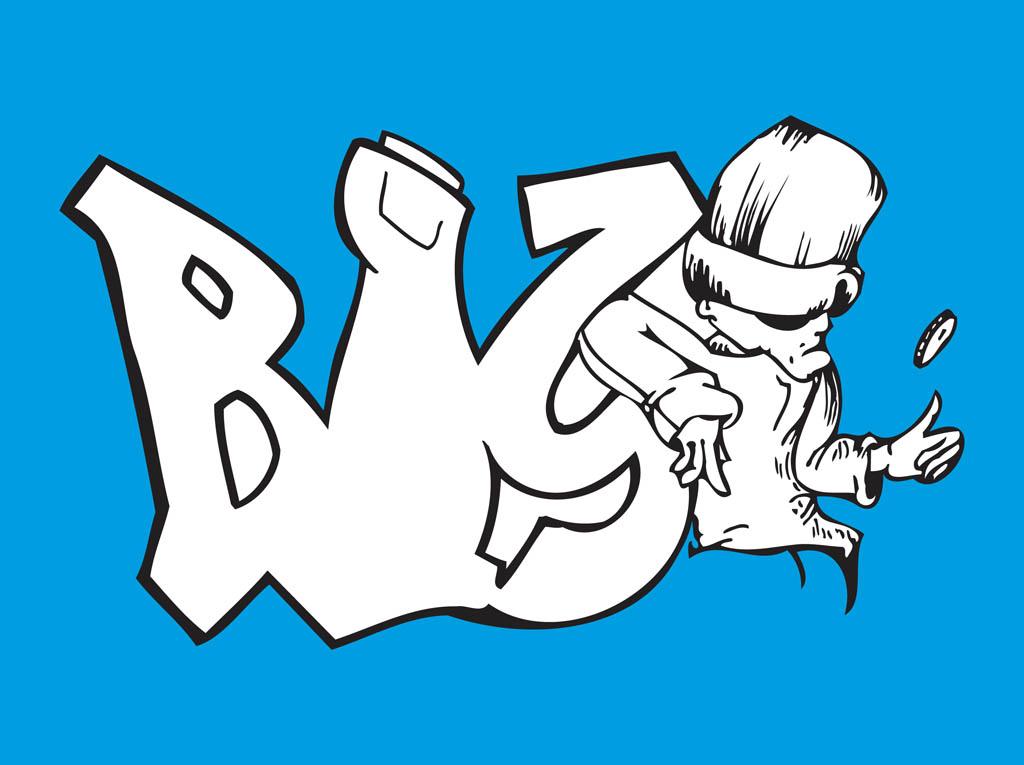 1024x765 Gangster Graffiti Vector Art Amp Graphics