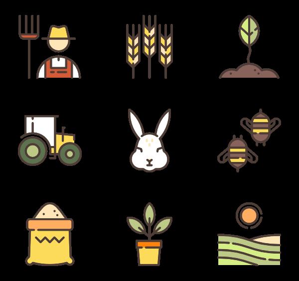 600x564 Gardening Tools Icons