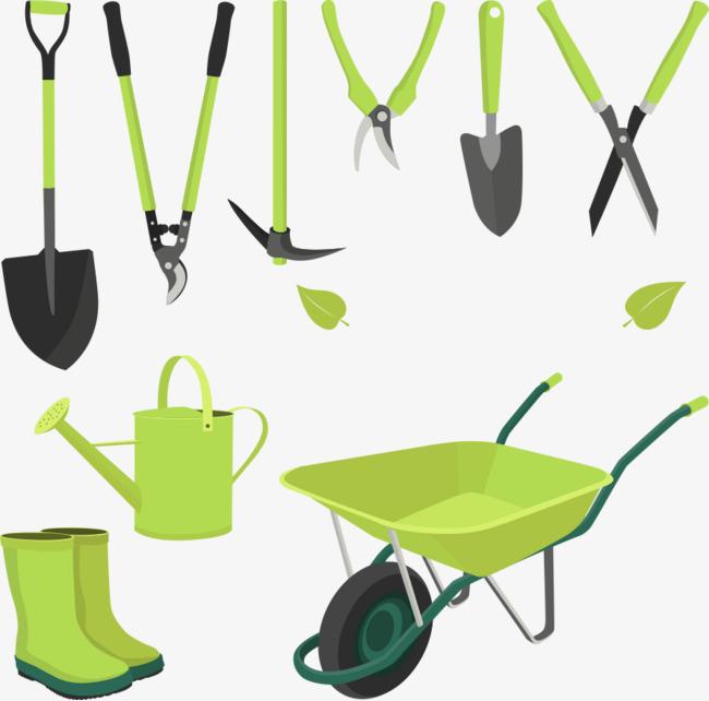 650x642 Vector Material Garden Tools, Garden Vector, Tools Vector, The